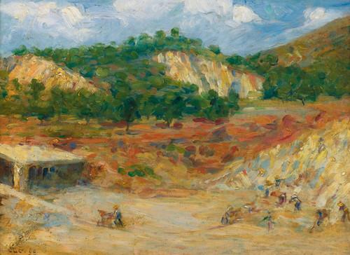 Art Prints of Excavation by Maximilien Luce