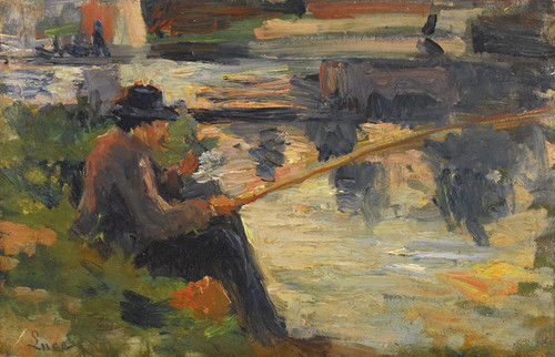 Art Prints of Fishing Meudon by Maximilien Luce