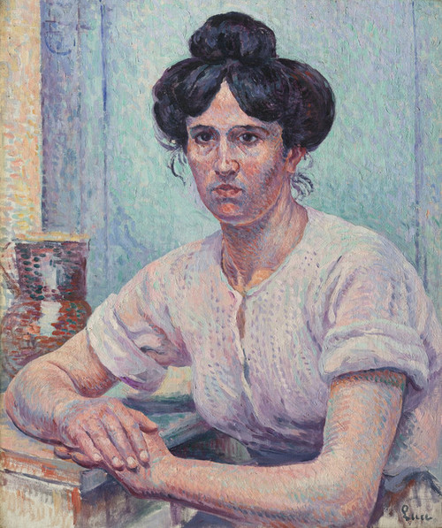 Art Prints of Laundress Philiberte Givort by Maximilien Luce