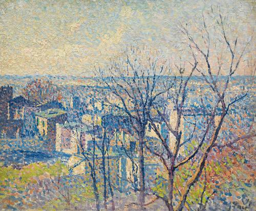 Art Prints of Montmartre by Maximilien Luce