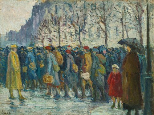 Art Prints of Military by Maximilien Luce