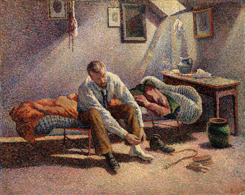 Art Prints of Morning Interior by Maximilien Luce