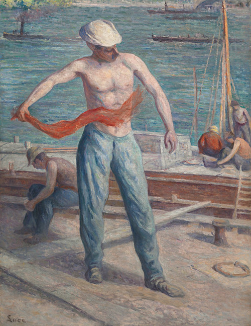 Art Prints of Tanktop by Maximilien Luce