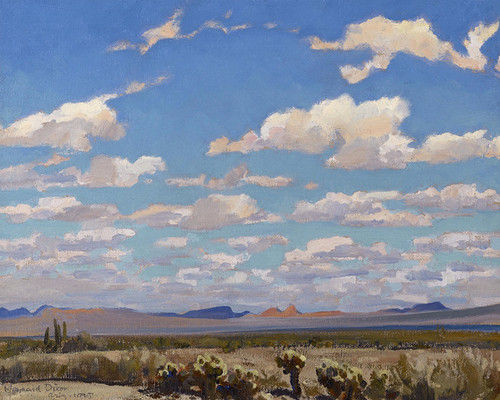 Art Prints of Clouds of a Summer Afternoon by Maynard Dixon
