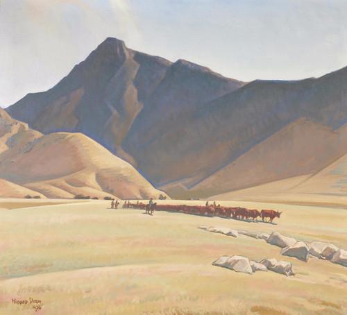 Art Prints of High Hills of Tehachapi by Maynard Dixon