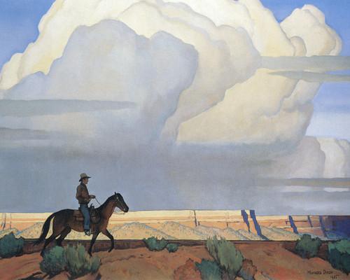 Art Prints of Desert Journey by Maynard Dixon