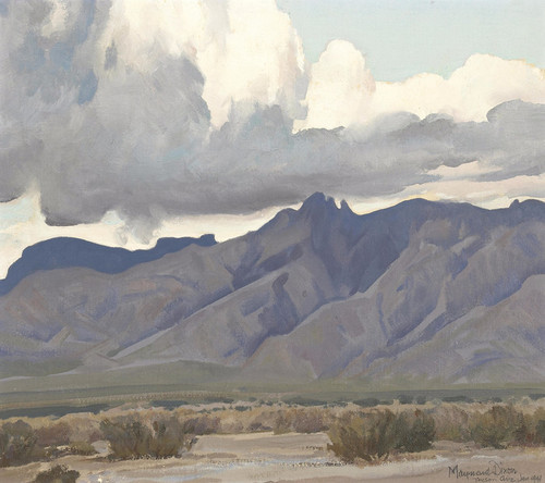 Art Prints of End of a Storm by Maynard Dixon