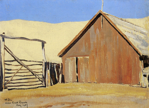 Art Prints of Creek Ranch by Maynard Dixon