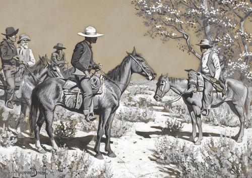 Art Prints of Hello Stranger by Maynard Dixon