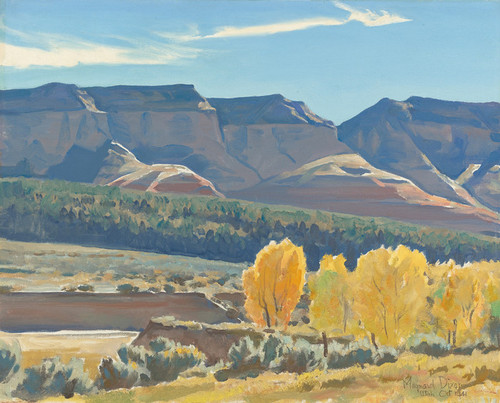 Art Prints of Peaceful Morning by Maynard Dixon