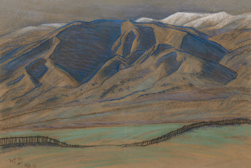 Art Prints of Rolling Foothills by Maynard Dixon