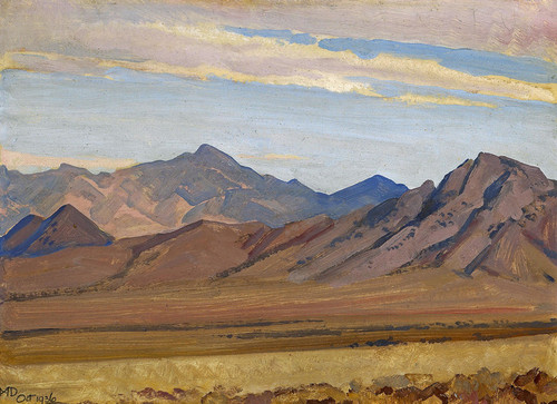 Art Prints of Southern Sierra by Maynard Dixon