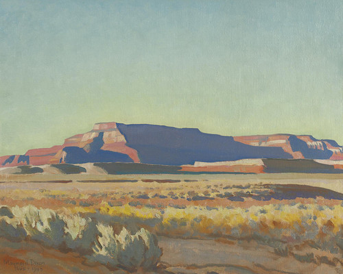 Art Prints of Striped Mesa by Maynard Dixon