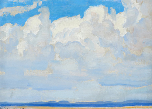 Art Prints of Clouds, New Mexico by Maynard Dixon