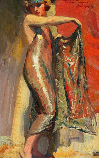 Art Prints of Flapper Girl by Maynard Dixon