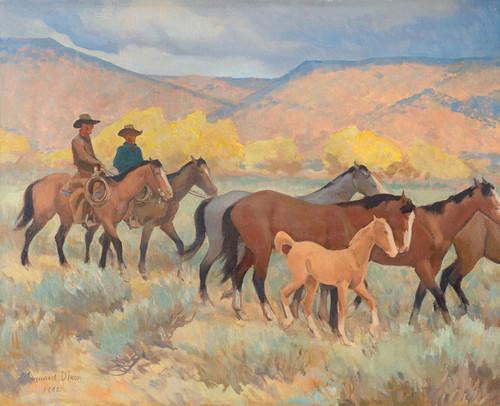 Art Prints of Coming Home by Maynard Dixon