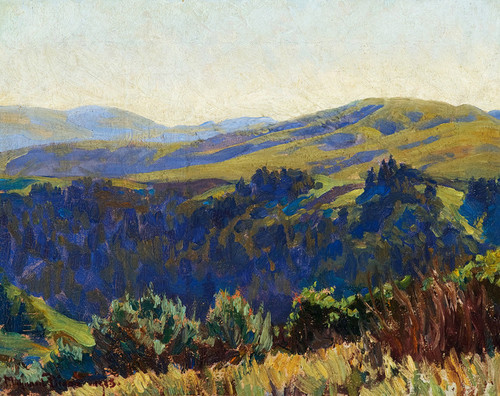 Art Prints of November Morning by Maynard Dixon