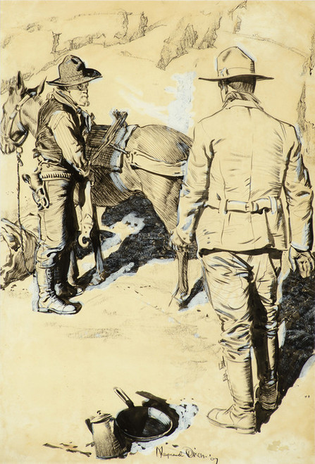 Art Prints of Prospectors by Maynard Dixon