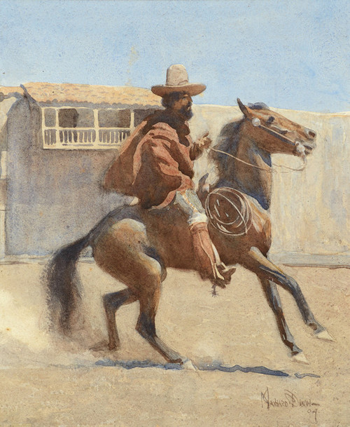 Art Prints of Ranchero of Old California by Maynard Dixon