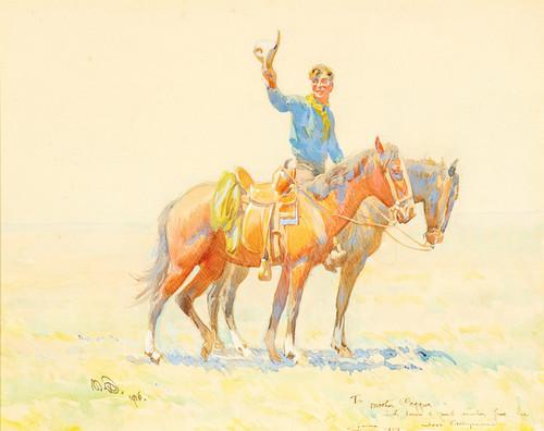 Art Prints of The Cowboy by Maynard Dixon