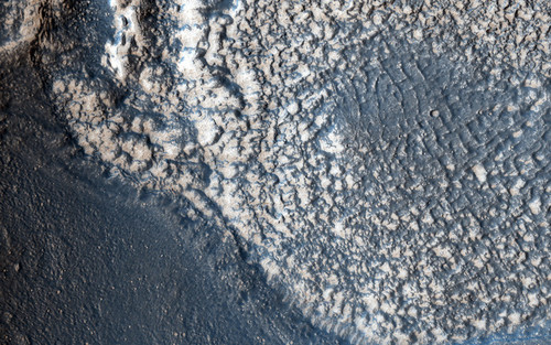 Art Prints of Embayment in Tectonized Fluvial Terrain by NASA