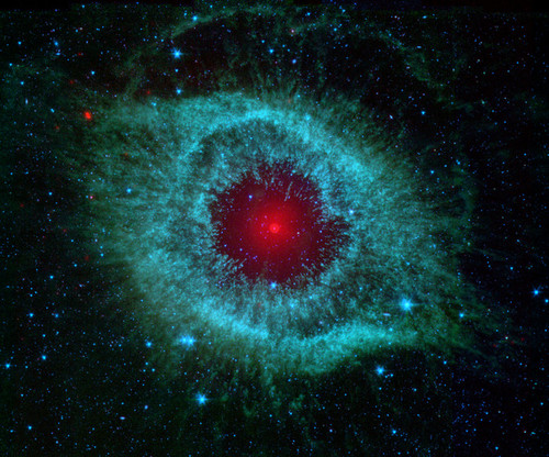 Art Prints of Comets Kick up Dust in Helix Nebula by NASA