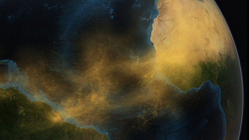 Art Prints of Saharan Dust by NASA