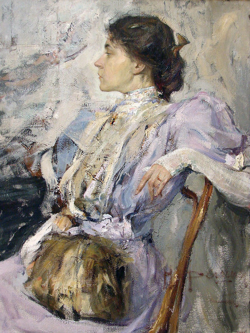 Art Prints of Portrait of an Unknown Woman by Nicolai Fechin