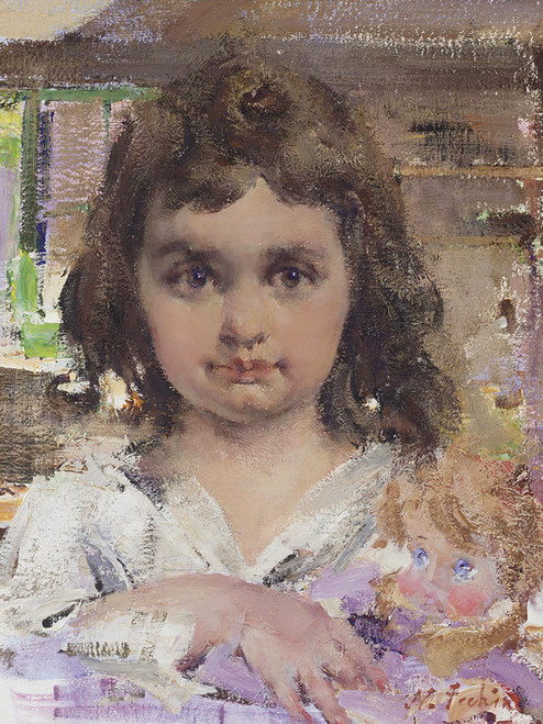 Art Prints of The Baby Doll by Nicolai Fechin
