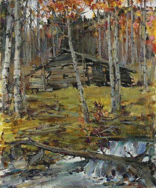 Art Prints of Autumn Trees, Twining by Nicolai Fechin
