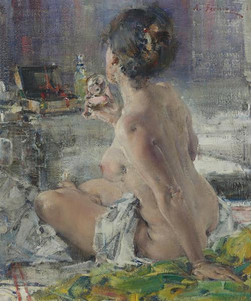 Art Prints of Nude Woman by Nicolai Fechin