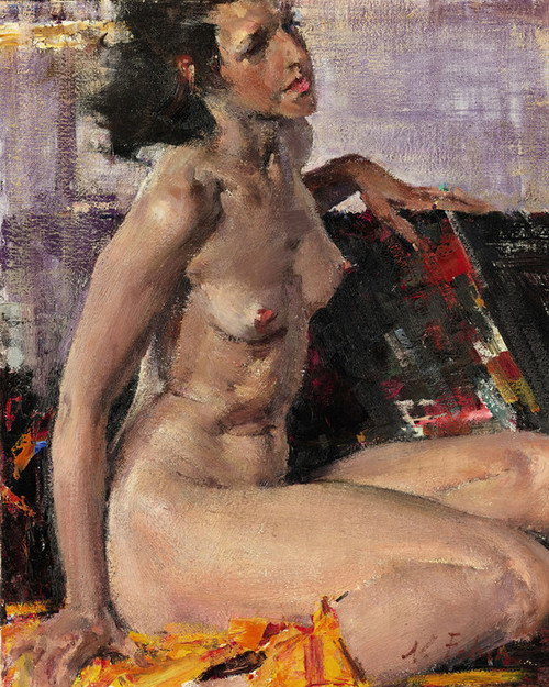 Art Prints of Nude by Nicolai Fechin