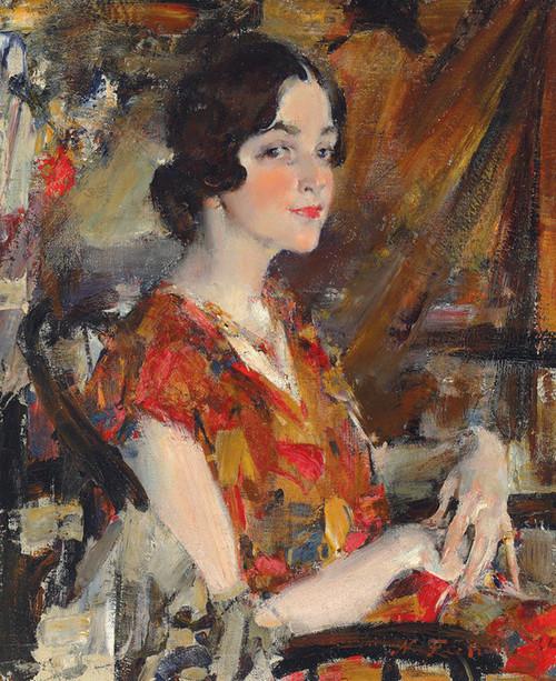 Art Prints of Portrait of Kate by Nicolai Fechin