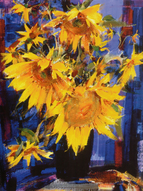 Art Prints of Sunflowers by Nicolai Fechin