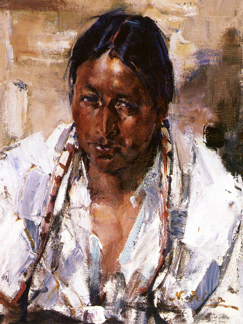 Art Prints of Taos Indian by Nicolai Fechin