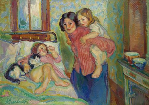 Art Prints of Mother's Morning by Nikolai Aleksandrovich Tarkhov
