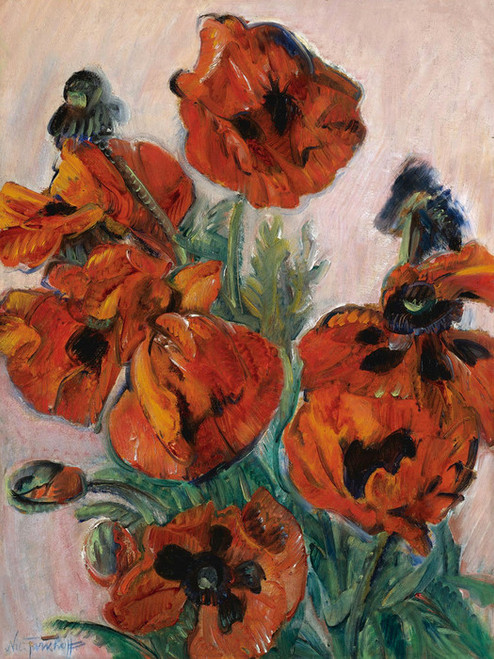 Art Prints of Poppies by Nikolai Aleksandrovich Tarkhov
