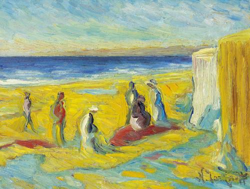 Art Prints of The Beach at Sulac by Nikolai Aleksandrovich Tarkhov