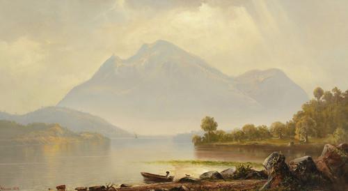 Art Prints of South American Landscape 1879 by Norton Bush