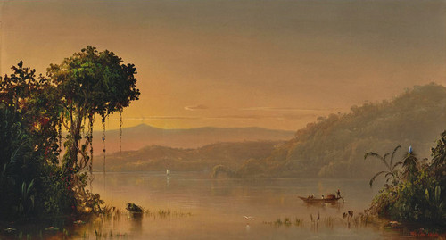 Art Prints of Scene on the Upper Guayaquil River by Norton Bush