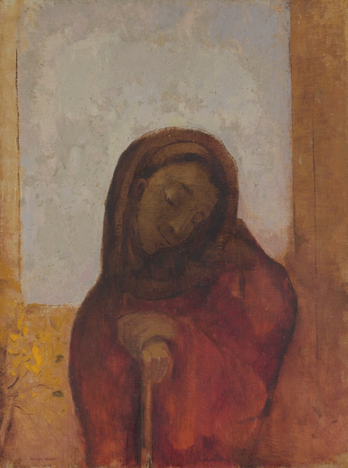 Art Prints of Despair or Suffering by Odilon Redon