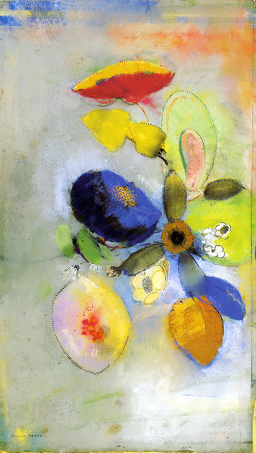 Art Prints of Flowers by Odilon Redon