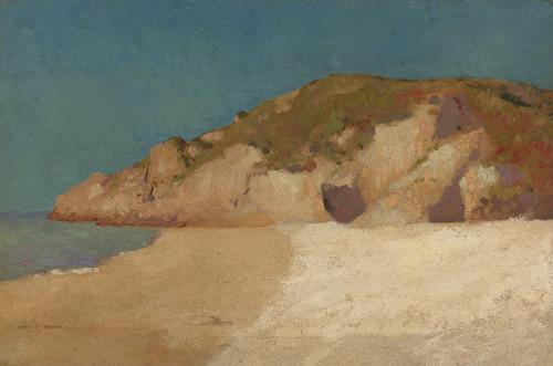 Art Prints of Landscape of Britain by Odilon Redon