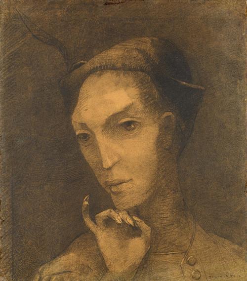 Art Prints of Mephistopheles by Odilon Redon