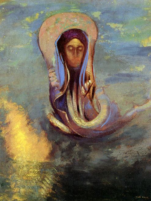 Art Prints of Oannes, 1910 by Odilon Redon