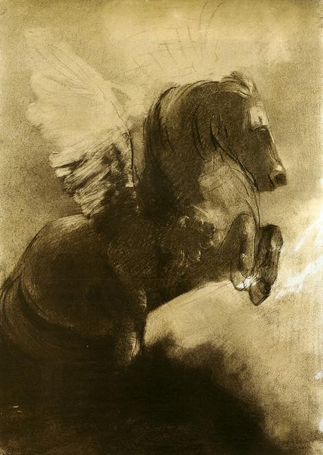 Art Prints of Pegasus II by Odilon Redon