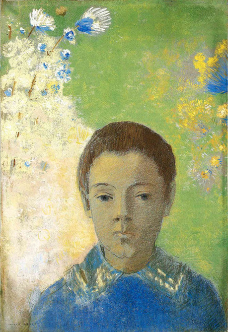 Art Prints of Portrait of Ari Redon by Odilon Redon