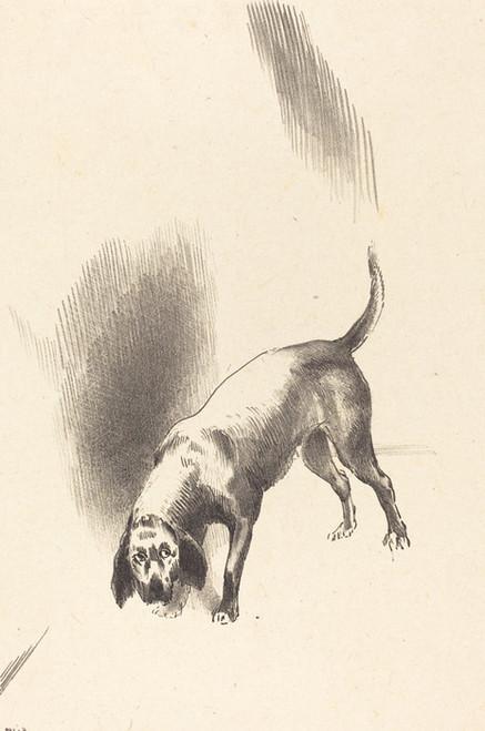 Art Prints of The Dog by Odilon Redon