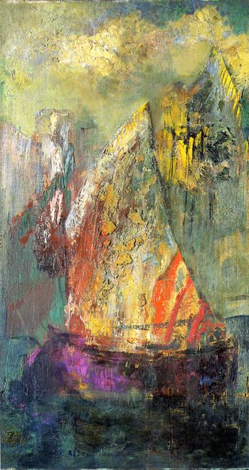 Art Prints of The Boat II by Odilon Redon