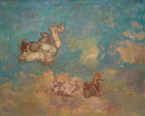 Art Prints of The Chariot of Apollo by Odilon Redon